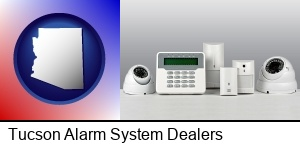 Tucson, Arizona - home alarm system